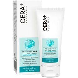 Cera+ solutions emolientowy krem do twarzy i ciała 100ml