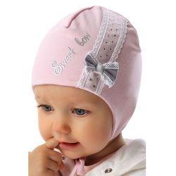 Czapka niemowlęca wiązana 5X34AP Oferta ważna tylko do 2019-06-26