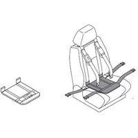 Pozostałe foteliki i akcesoria, Podkładka udowa z pasem udowym do pasów samochodowych dla niepełnosprawnych CAREVA CROSS IT dzieci, dorośli