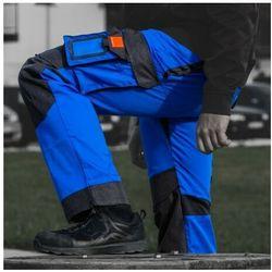 Spodnie robocze 245 g/m2 R62 WZMOCNIONE NIEBIESKO-CZARNE Doktorvolt 2131
