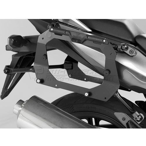 Stelaże motocyklowe, STELAŻ EVO PROFILE NA KUFRY BOCZNE HONDA CBF 500 / 600 / 1000 BLACK SW-MOTECH