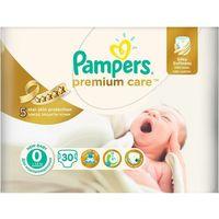 Pieluchy jednorazowe, PAMPERS Premium Care pieluchy 0 30szt pieluszki
