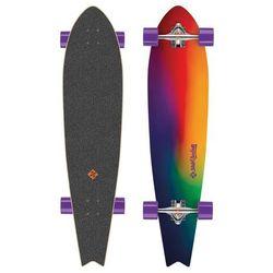 "Longboard Street Surfing Fishtail - Sunset Blur 42"""