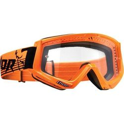 THOR GOGLE CONQUER OFFROAD FLO ORANGE/BLACK =$
