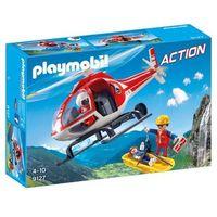 Klocki dla dzieci, Playmobil ACTION Helikopter ratowniczy 9127