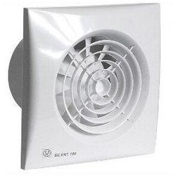 Wentylator łazienkowy cichy Silent 100 CZ. Biały
