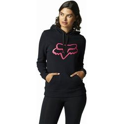 bluza FOX - Boundary Pullover Fleece Black/Pink (285) rozmiar: S
