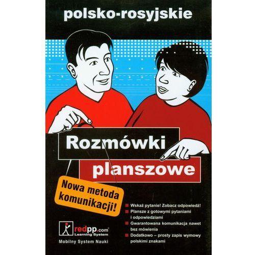 Książki do nauki języka, Rozmówki planszowe polsko-rosyjskie (opr. miękka)