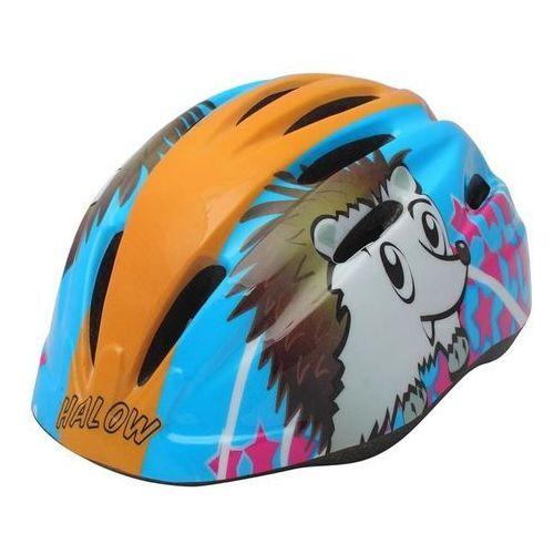 Kaski ochronne dla dzieci, Kask rowerowy dziecięcy KROSS Best 036ML niebieski (rozmiar M) + Zamów z DOSTAWĄ JUTRO!