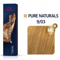 Wella Koleston Perfect ME+ | Trwała farba do włosów 9/03 60ml