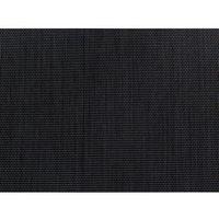Zestawy ogrodowe, Beliani Zestaw ogrodowy szklany blat 180 cm 6 osobowy czarne krzesła GROSSETO