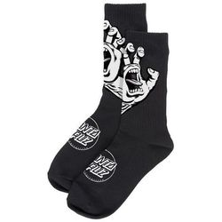 skarpetki SANTA CRUZ - Screaming Hand Mono Sock Black (BLACK) rozmiar: OS