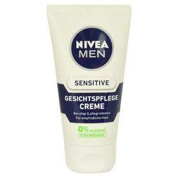 Nivea Men Sensitive krem do twarzy na dzień 75 ml dla mężczyzn