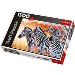 Puzzle 1500 Zebry TREFL