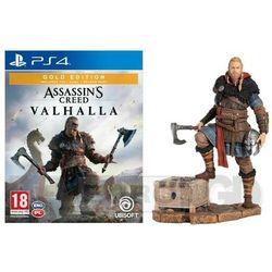 Assassin's Creed Valhalla Złota Edycja + Figurka Eivor PS4