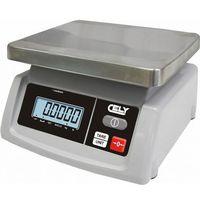 Wagi sklepowe, Waga sklepowa   dokładność 1/2g   do 6 kg   235x240x(H)130mm