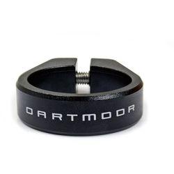 Obejma podsiodłowa Dartmoor Ring 31,8 mm czarna anodowana