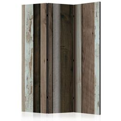 Parawan 3-częściowy - Drewniany wachlarz [Room Dividers]