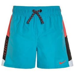 Nike Performance LOGO 4 VOLLEY Szorty kąpielowe chlorine blue