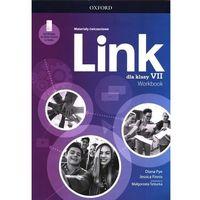 Książki do nauki języka, Link 7 materiały ćwiczeniowe + dostęp online - praca zbiorowa (opr. broszurowa)