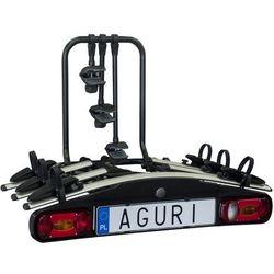 Aguri Active Bike 3 Bagażnik rowerowy na hak do przewozu 3 rowerów - 3 \ Srebrny