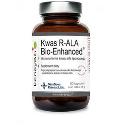 Kenay Kwas R-ALA Bio-Enhanced aktywna forma kwasu liponowego 60 kapsułek - suplement diety