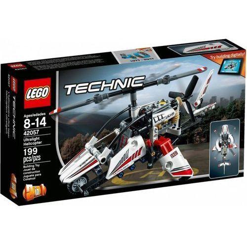 Helikoptery dla dzieci, Lego TECHNIC 42057 Ultralekki helikopter