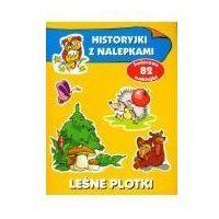 Książki dla dzieci, Leśne plotki Historyjki z nalepkami (opr. broszurowa)