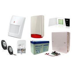Zestaw alarmowy Satel Micra LED, 2 Piloty, 4 czujniki bezprzewodowe, Sygnalizator zewnętrzny