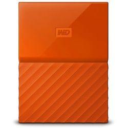 Dysk WD My Passport 4TB USB 3.0 orange