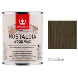 TIKKURILA NOSTALGIA WOOD WAX- wosk do drewna, chocolate, 0.9 l