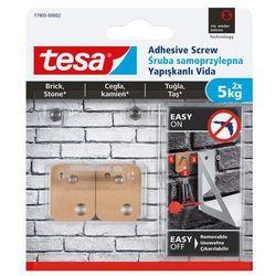 Śruby samoprzylepne Tesa zewnętrzne kwadratowa udźwig 5 kg 2 szt.