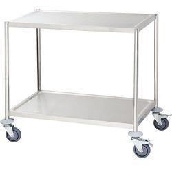 Wózek kelnerski 2-półkowy 850x530x800 mm | STALGAST, 661040