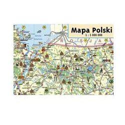 Mapa Polski Junior mapa ścienna. Darmowy odbiór w niemal 100 księgarniach!