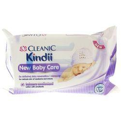 Cleanic Kindi Chusteczki nawilżane New Baby Care zapas 60 szt.