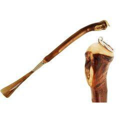 Łyżka do obuwia Pasotti Shoehorn in Chestnut Wood, cs CR