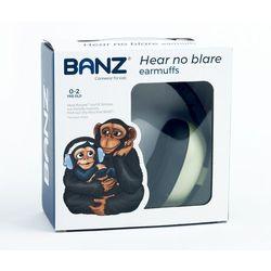 Słuchawki ochronne nauszniki dzieci 0-3lat BANZ - Leaf Green