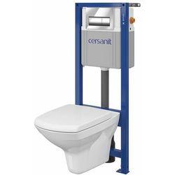 CERSANIT Zestaw podtynkowy WC Trevi z deską wolnoopadającą