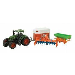 DROMADER Traktor + 3 Mas zyny Rolnicze