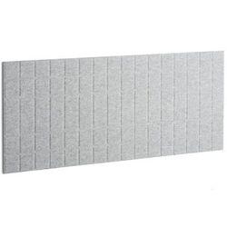 Panel dźwiękochłonny SPLIT, 1600x600 mm, jasnoszary