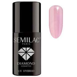 SEMILAC 7ml Diamond UV Hybrid 058 Heather Gray Lakier hybrydowy do paznokci