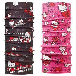 Komin Polar Buff Junior Hello Kitty BALLOON + Chusta Junior Buff Hello Kitty GRID - BALLOON / GRID \ Różu -50% (-50%)
