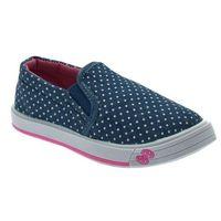 Buty sportowe dla dzieci, Trampki dziecięce wsuwane Axim 1168 Jeans - Jeans