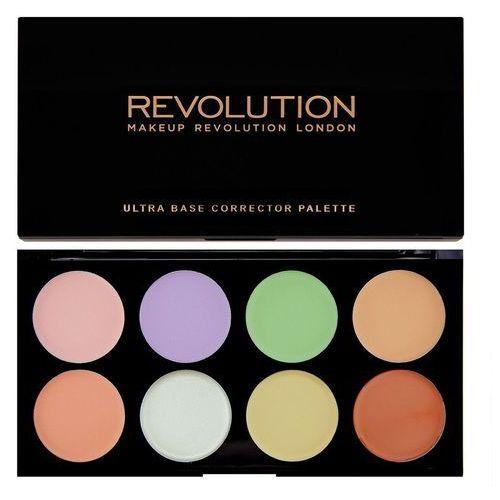 Korektory do twarzy, Makeup Revolution Ultra Base Corrector Palette Zestaw korektorów (8 odcieni) 13g