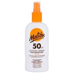 Malibu Lotion Spray SPF50 preparat do opalania ciała 200 ml unisex