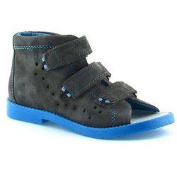 Dziecięce buty profilaktyczne Dawid 1042 - Niebieski ||Szary