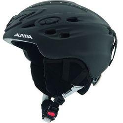 ALPINA SCARA BLACK STRASS - kask narciarski R. 52-56 cm