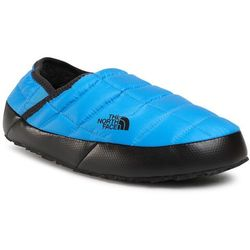 Kapcie THE NORTH FACE - Thermoball Traction Mule V NF0A3UZNME91 Clear Lake Blue/Tnf Black
