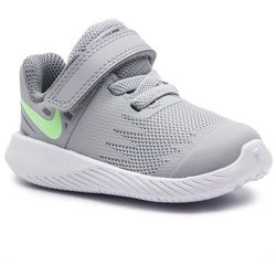 Buty NIKE - Star Runner (TDV) 907255 008 Wolf Grey/Lime Blast/Cool Grey