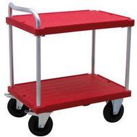 Wózki i stoły narzędziowe, Wózek stołowy do dużych obciążeń,dł. x szer. 900 x 600 mm, nośność 500 kg